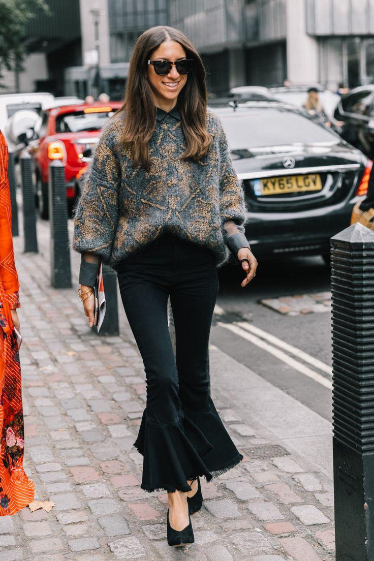 London SS18 Street Style