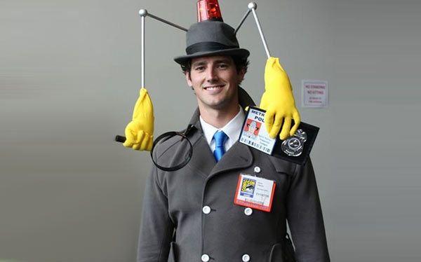 Inspector Gadget Kostüm selber machen