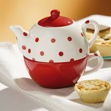 Image result for teapot for one red