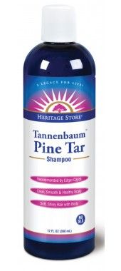 Tannenbaum Pine Tar Shampoo (sulfate free)