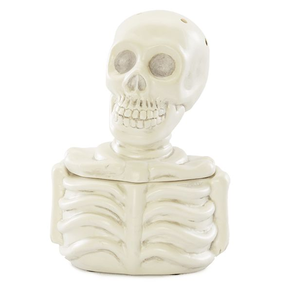 Mr. Bones Scentsy Warmer $40 With a glow-in-the-dark finish that adds a fiendishly fun touch, Mr. Bones is a to-die-for Halloween guest.
