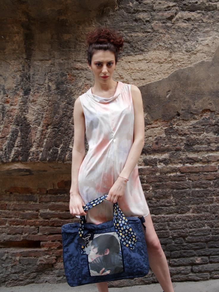 photo:Francesca di Monte stylist:Simona Gambardella mua+hair stylist:Basia Olejniczak modella:Serena Bottazzi location:Matta & Goldoni