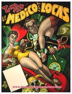 Tin Tan en El Medico de las Locas, por Ernesto Chango Cabral.