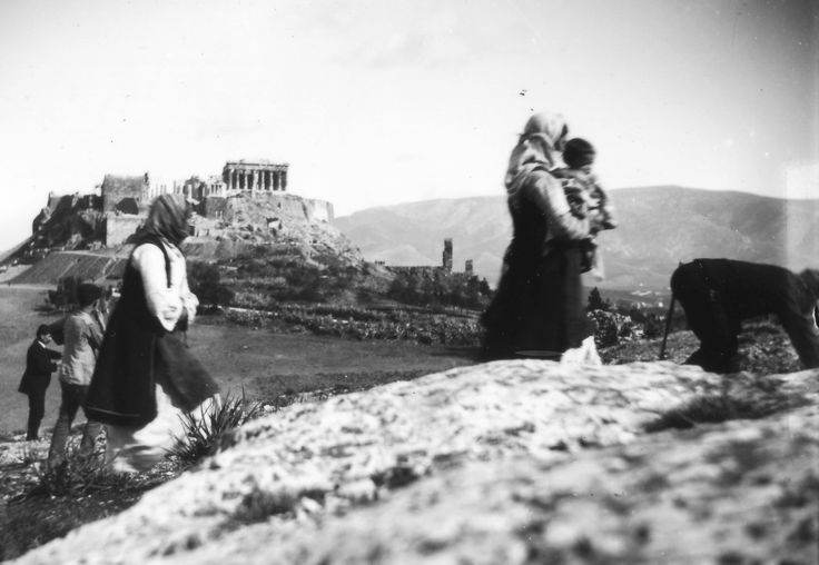 ΑΘΗΝΑ: This photograph was taken by Nicholson Museum curator William J Woodhouse in Greece between 1890 and 1935. https://www.flickr.com/
