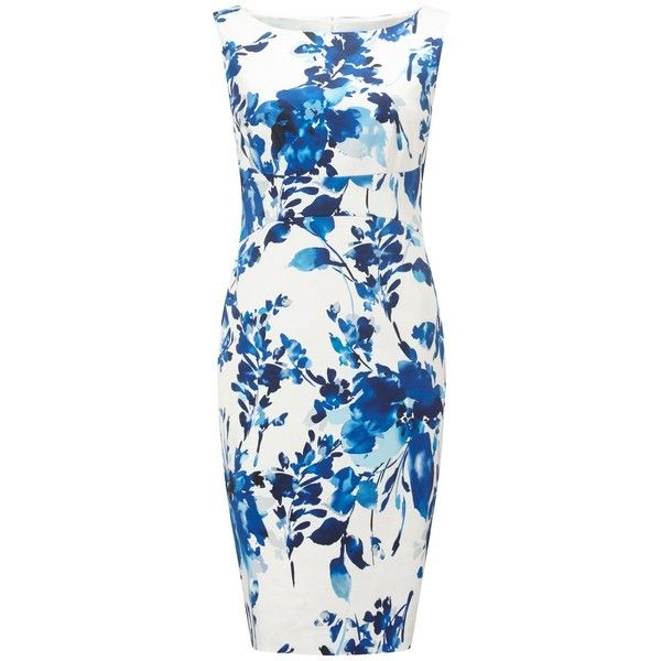Precis Petite Petite Lilah Printed Shift (8.450 RUB) ❤ liked on Polyvore featuring dresses, petite, women, patterned shift dress, pattern dress, print dresses, structured shift dress and cotton shift dress
