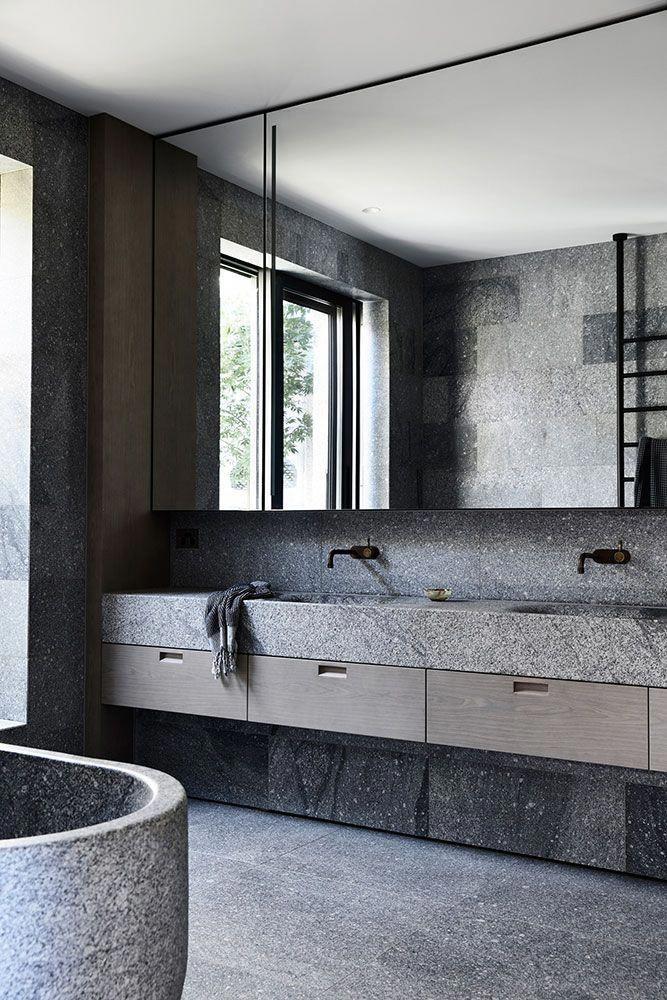 Australien Luxurioses Badezimmer Luxus Badezimmermaster Bader Badezimmer Design Badezimmer Innenausstattung Moderne Raumausstattung