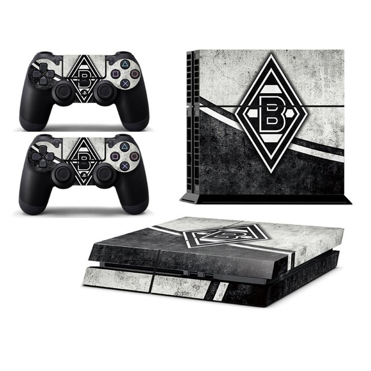 borussia m nchengladbach playstation 4 ps4 skin decal sticker cover playstation 4 custom made. Black Bedroom Furniture Sets. Home Design Ideas
