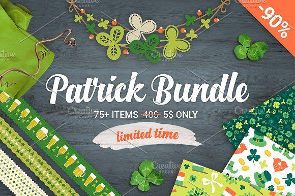 90% Off - Patrick's Day Big Bundle