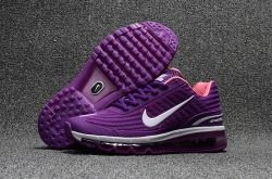 Latest style Nike Air Max 360 KPU Purple/White Women's Running Shoes Sneakers 310908 560