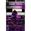 GO Keyboard Purple Flame Pro - Android Apps on Google Play