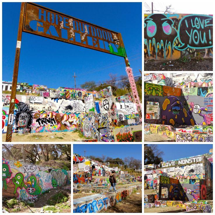 Baylor Street Art Wall: Free Fun In Austin: Exploring Austin's Street Art, Murals