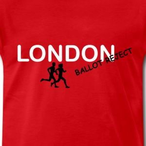 London Marathon Ballot Reject - Men's Premium T-Shirt