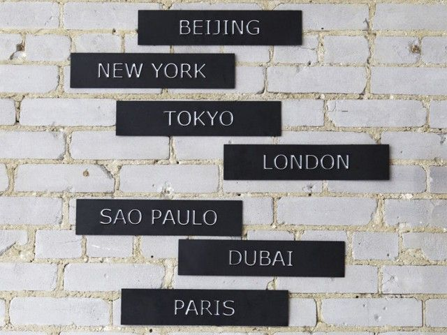 Декор для стен Мегаполисы