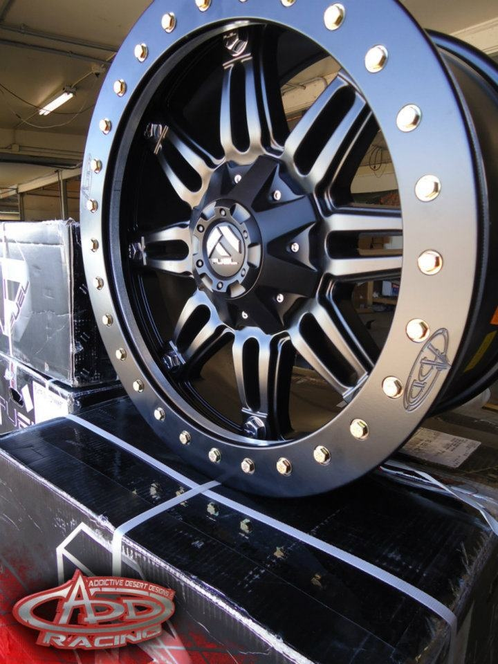 Ford Raptor Beadlocks. These bad boys are going on the Ford Raptor I'm looking into gettin , fo show !