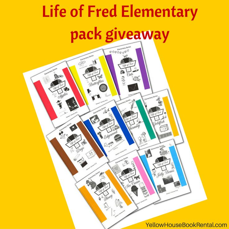 Life of Fred Elementary series giveaaway! Enter for a chance to win 3 Life of Fred elementary series math books or get 5 Free Life of Fred Math rentals! $50 value. Ends Dec 23,2016!