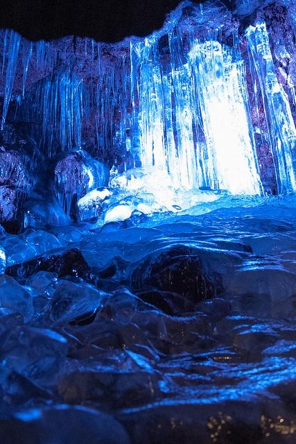 Narusawa Ice Cave (鳴沢氷穴), Mt. Fuji