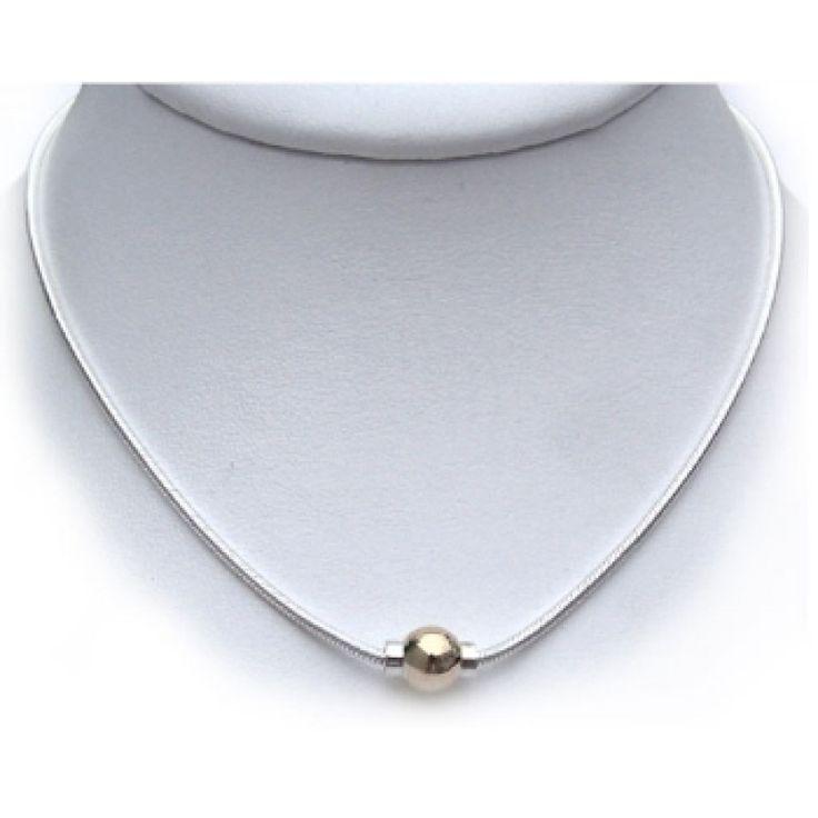 Cape Cod Single Ball Snake Chain Necklace ($75 - $125) - Cape Cod Necklaces - CAPE COD JEWELRY