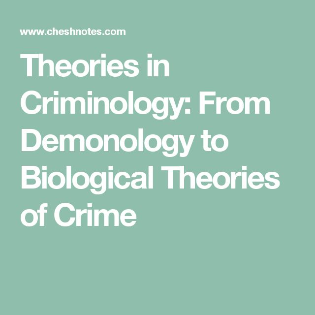 the challenges and theories in identifying the criminal mind One key idea that the sociological theories have in common, though, is the idea that criminal behavior is not innate to humans and circumstances affect how people act.
