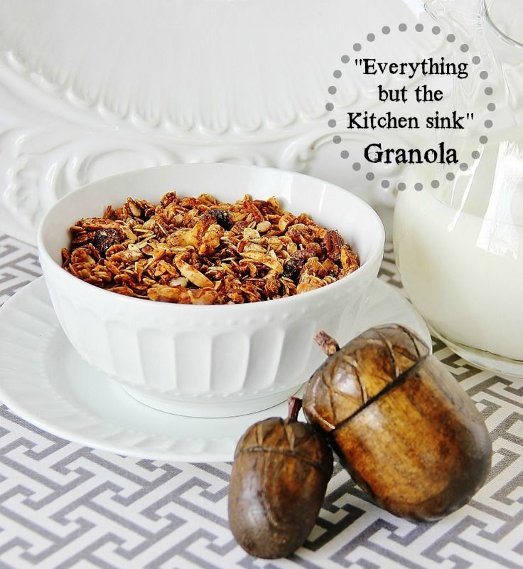 The Ultimate Granola....not too sweet...crunchy....best granola I have ever eaten!