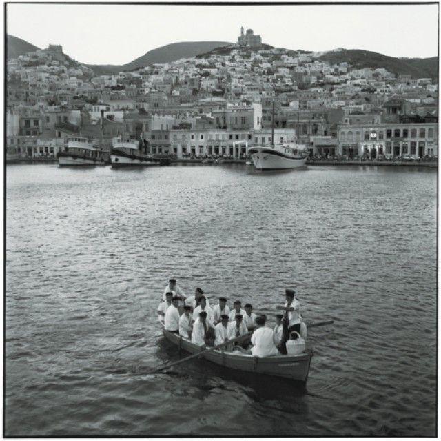 Syros,Cyclades,1954
