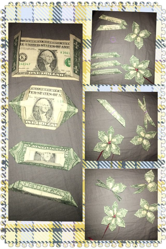 How to make Plumaria flower from a dollar bill. Y…