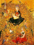 Madonna in the Rosary c. 1410  by Stefano Da Zevio
