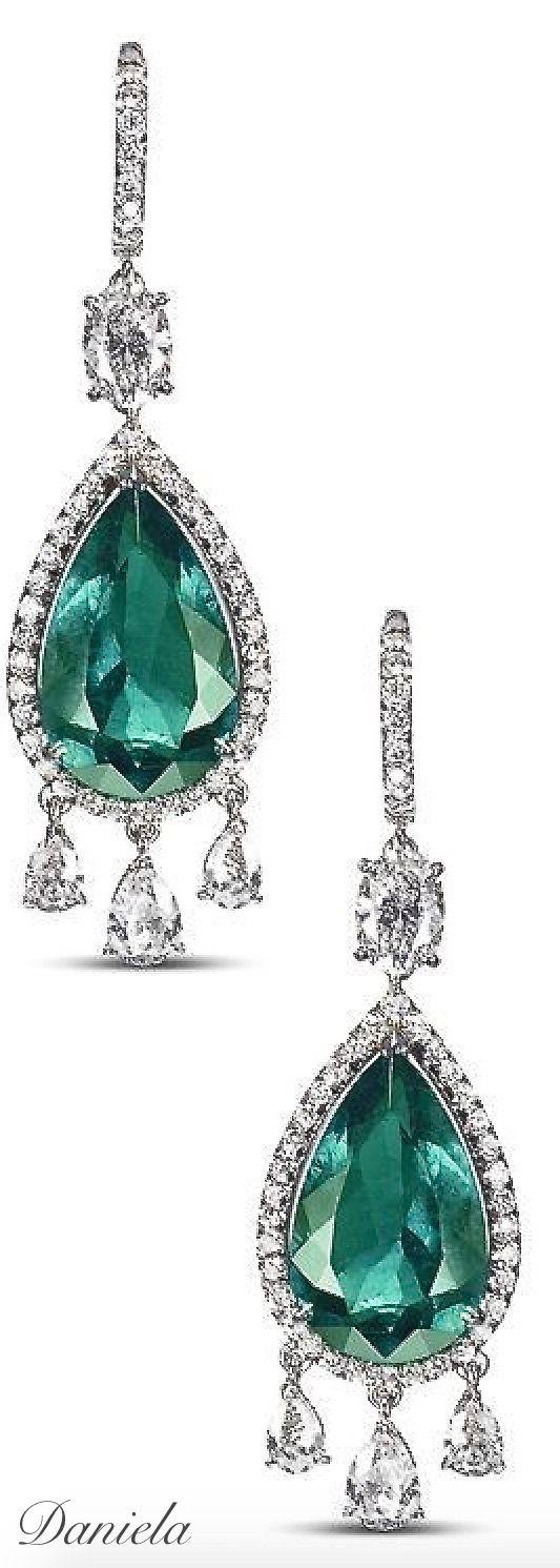 Asprey Emerald Earrings