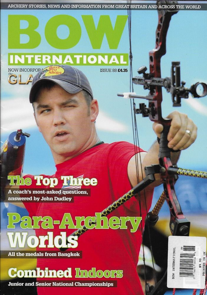Bow International magazine Para Archery Worlds Junior and senior nationals