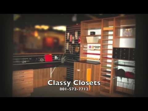 Closets In Utah   Classy Closets Video   YouTube Organize Your Garage With  Us! Come