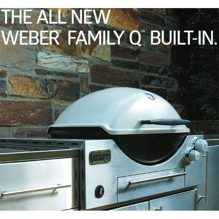 Weber Family Q 3600 Built In BBQ - BBQ's & Outdoor