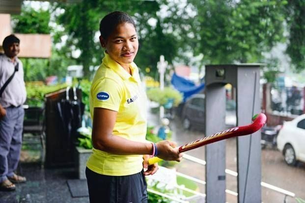 Deep Grace Ekka: Hails from a hockey family in Sundargarh:and a solid performer in the Indian line up. Great Going for the 19-year old midfielder. Photo Courtesy: Mint