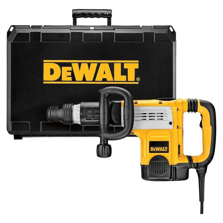 DEWALT 15 Amp 19 lb. SDS Max Demolition Hammer with Shocks-Active Vibration Control
