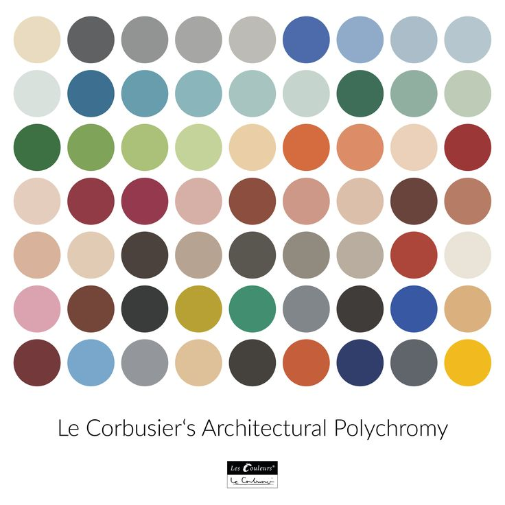 Color Theory Interiordesign: Le Corbusier S Polychromie Architecturale Le Corbusier