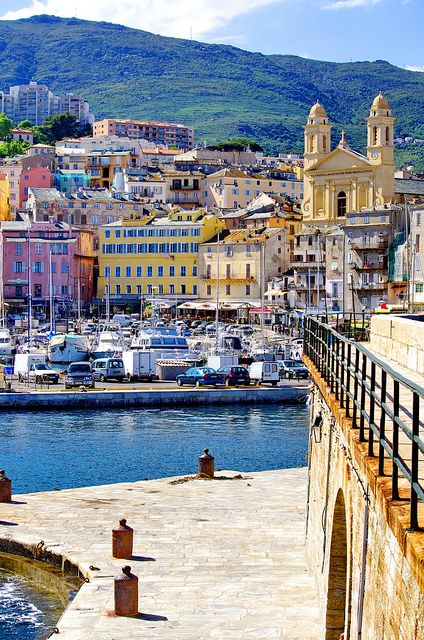 Bastia, Corsica, France.  Go to www.YourTravelVideos.com or just click on photo for home videos and much more on sites like this.