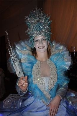 """""""Ice Queen"""" Strolling table created by Bliss Enterprises Ltd."""