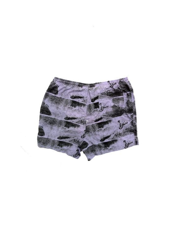 Rad 80s Allover Print Surfer Shorts 34 to 40