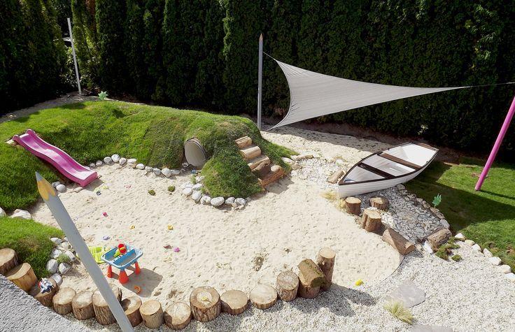 Terrain de jeux naturel au lac Balaton (conception et development: Kreakert Ltd …