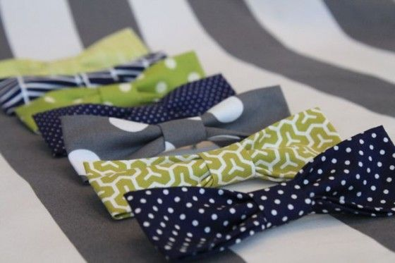 Tutorial for the bow ties for the cutest baby boy shower ever...
