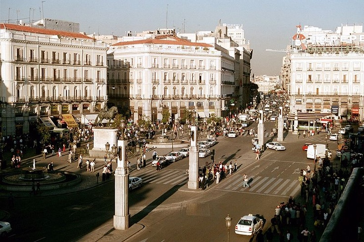 17 best images about travel madrid on pinterest san for Plaza puerta del sol madrid spain