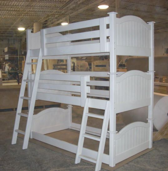 Columbus Triple Bunk Beds Bunk Beds Triple Bunk