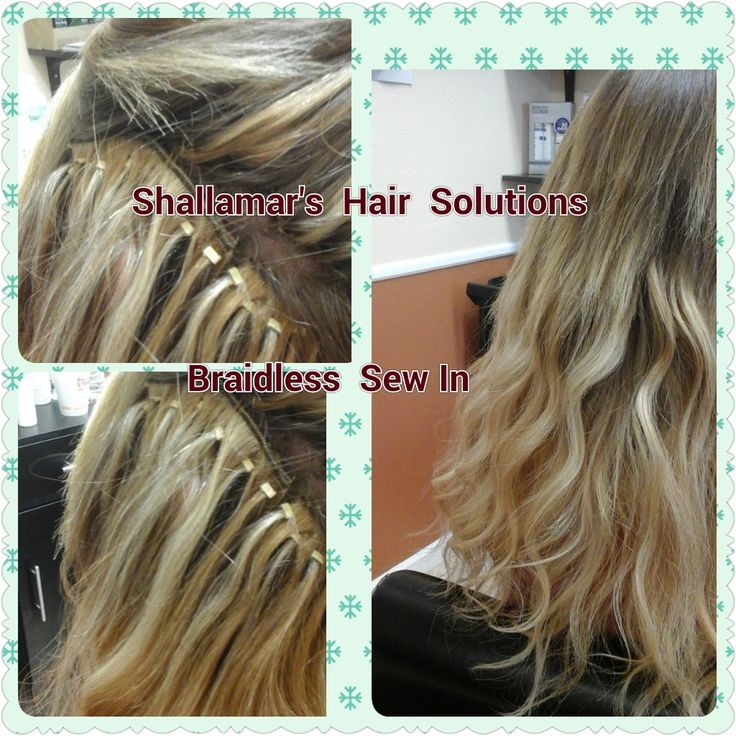 Braidless Sew In Hair Extensions Zieview