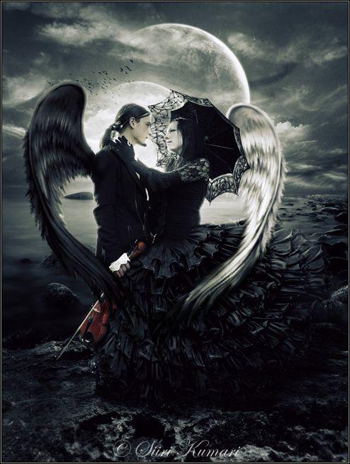 Macabros susurros y un universo de oscuridad: Imágenes góticas (amor gótico)