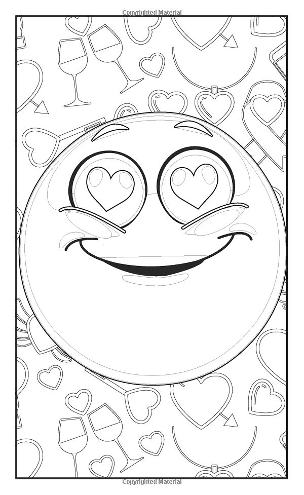 Cute Emoji Coloring Pages Printable