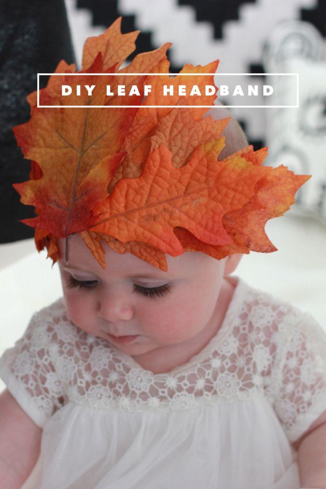 DIY | LEAF HEADBAND