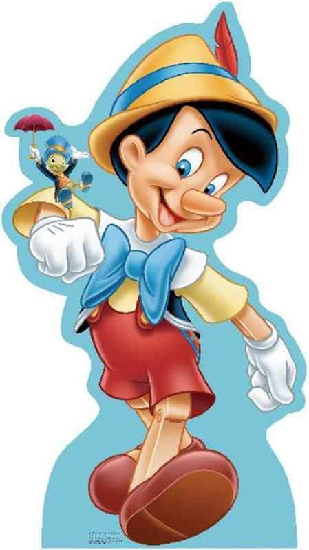 Pinocchio and Jiminy Cricket Lifesize Standup