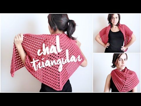 Chal de Ganchillo (ENGLISH SUB) paso a paso I TUTORIAL I cucaditasdesaluta - YouTube