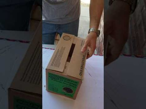 Girl Scout Cookie display boxes - YouTube