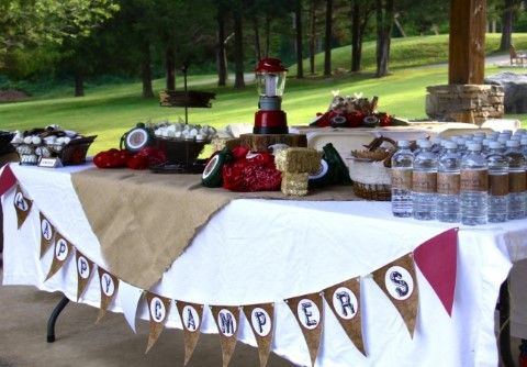 Camp Party Ideas                                                                                                                                                                                 More