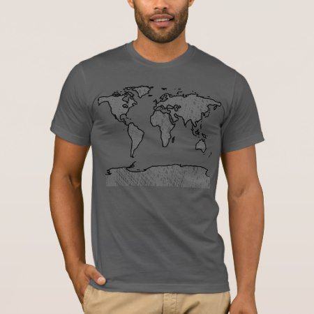 World Map Tshirt - tap, personalize, buy right now!
