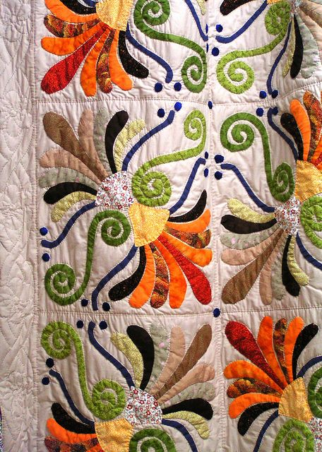 :) luv!!!! Good use of colors for an interesting block design. Could brighten up a room and I like it!